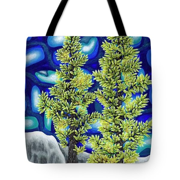 Larch Dreams 1 Tote Bag by Rebecca Parker