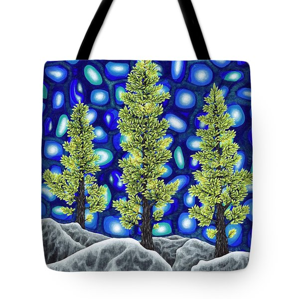 Larch Dreams 2 Tote Bag by Rebecca Parker