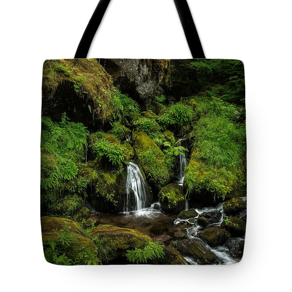Large Boulders In The Stream Tote Bag