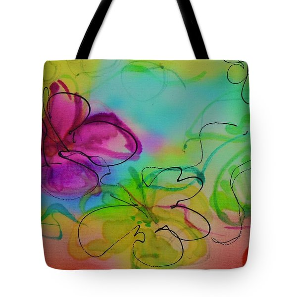 Large Flower 2 Tote Bag