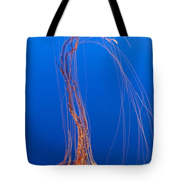 Large Jelly Fish Tote Bag by Darcy Michaelchuk