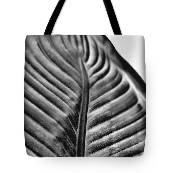 Large Leaf Tote Bag