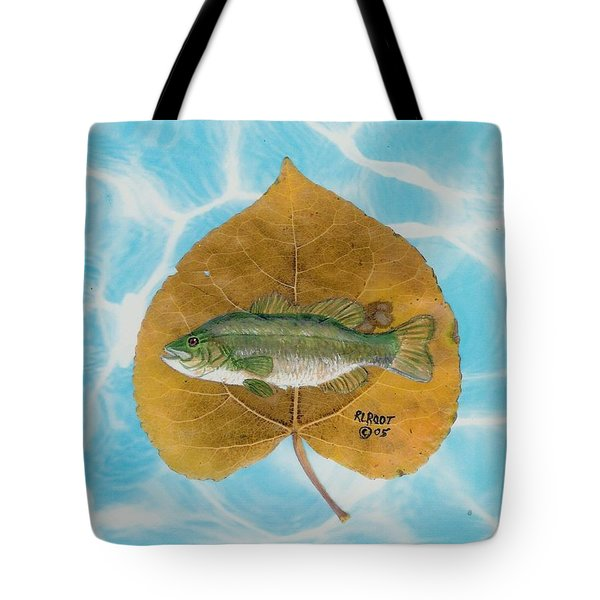 Large Mouth Bass #2 Tote Bag