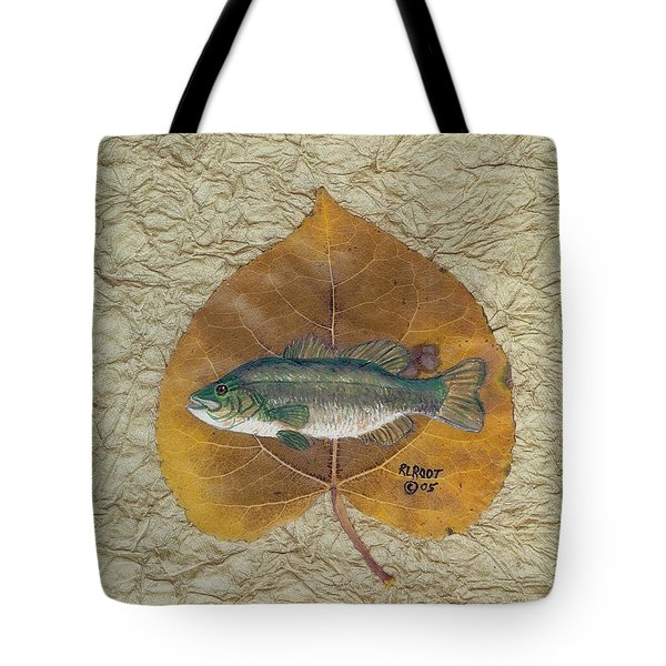 Large Mouth Bass #3 Tote Bag