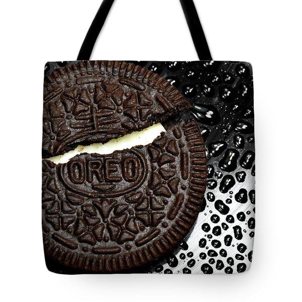 Large Oreo Cookie 2 Tote Bag