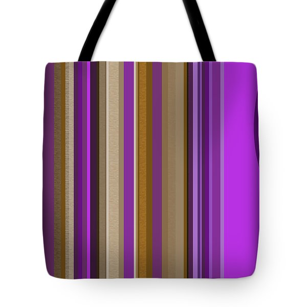 Large Purple Abstract Tote Bag