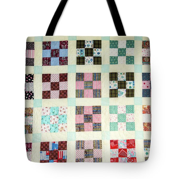 Large Quilt Tote Bag