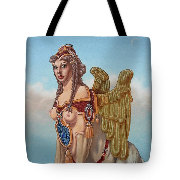 Large Sphinx Of The Vienna Belvedere Tote Bag