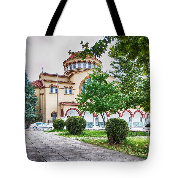 Larissa Old City Church Tote Bag