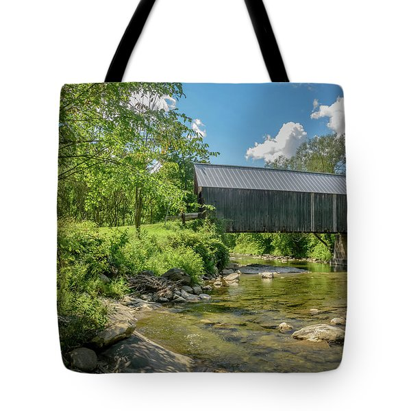 Larkin Bridge Tote Bag