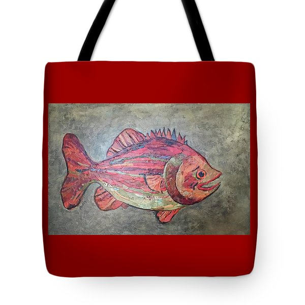 Larry Loud Mouth Tote Bag
