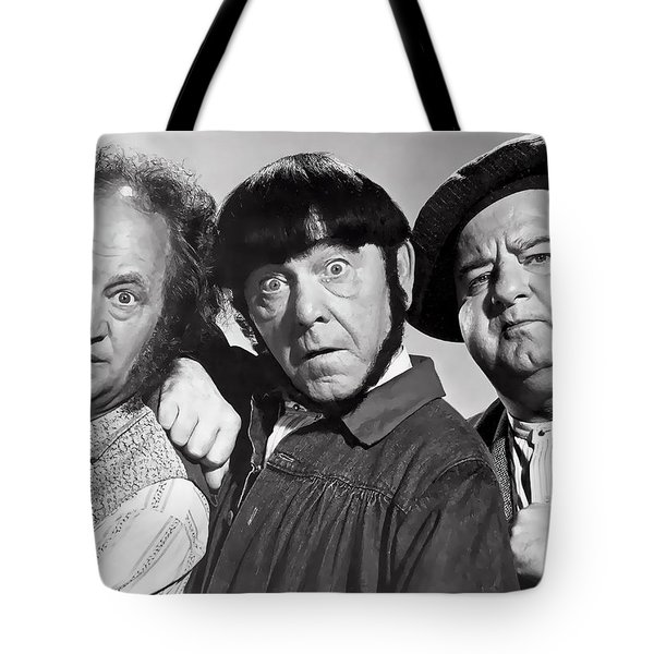 Larry, Moe And Curly Tote Bag