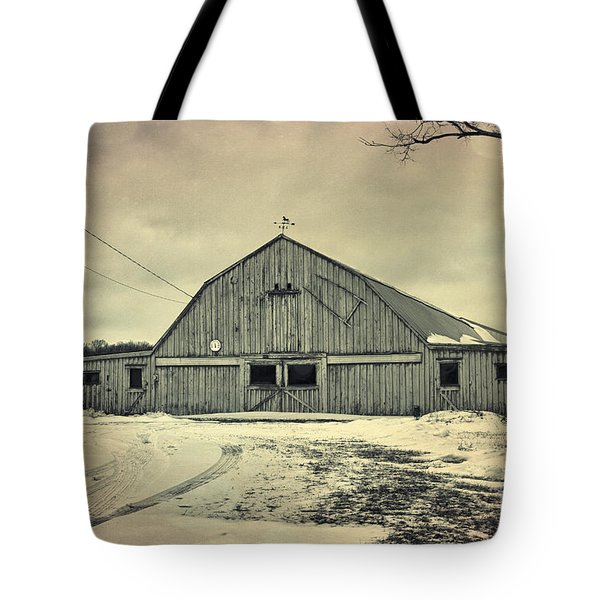Larsen Road Barn Tote Bag
