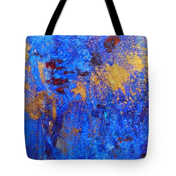 Tote Bag featuring the painting Las Flores by Mary Sullivan