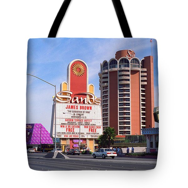 Tote Bag featuring the photograph Las Vegas 1994 #1 by Frank Romeo