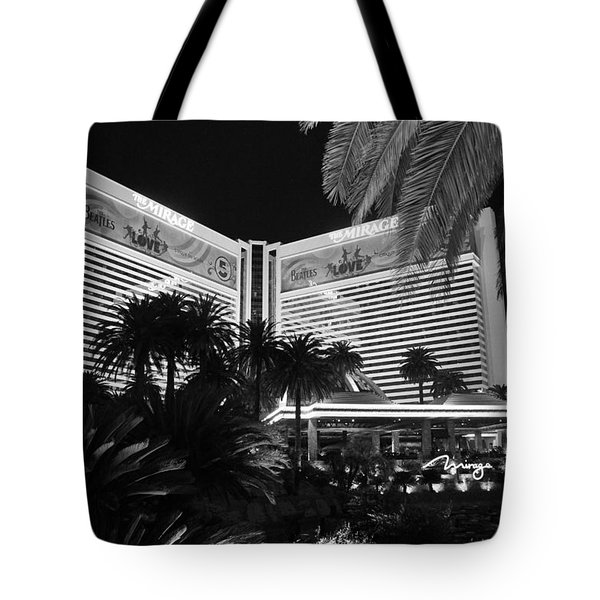 Tote Bag featuring the photograph Las Vegas by Athala Carole Bruckner