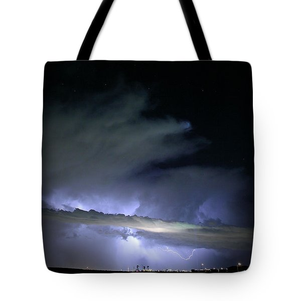 Las Vegas Lightning Tote Bag