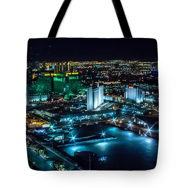 Las Vegas Looking North Tote Bag by Michael Rogers