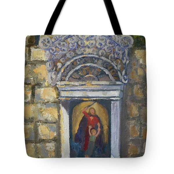 l'Ascensione Tote Bag