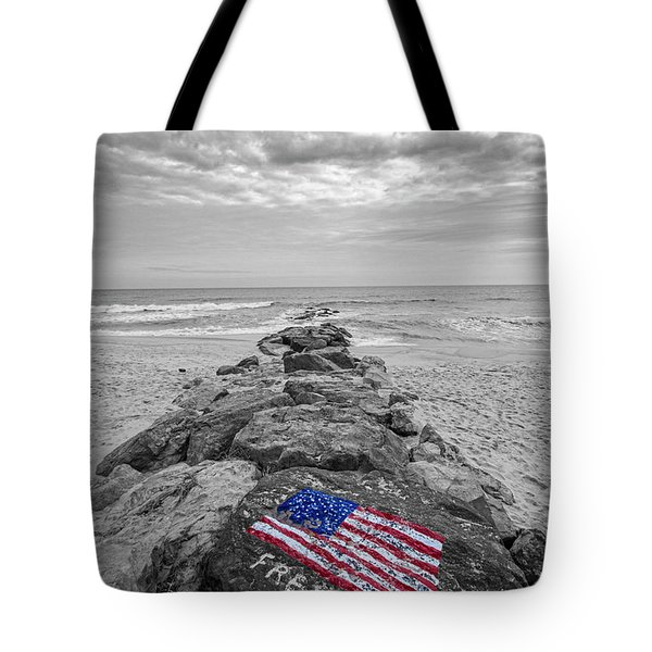 Lashley Beach Freedom Tote Bag