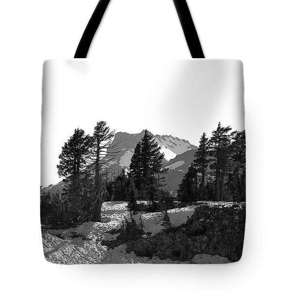 Tote Bag featuring the photograph Lassen National Park by Lori Seaman