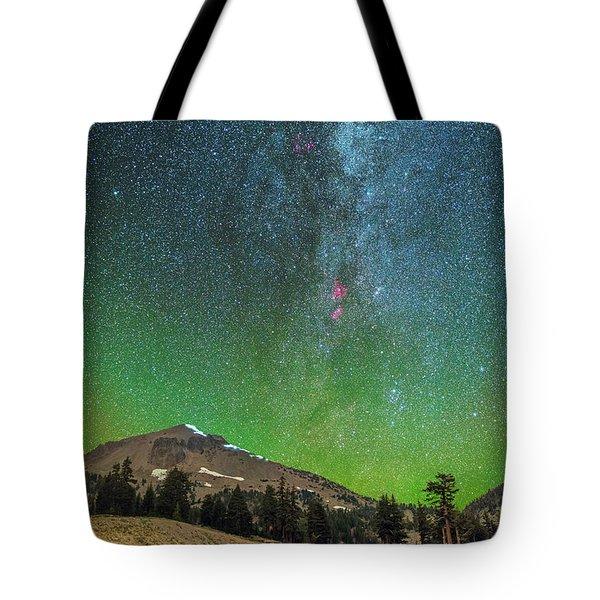 Lassen Nights Tote Bag