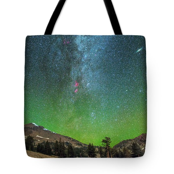 Lassen Nights Tote Bag