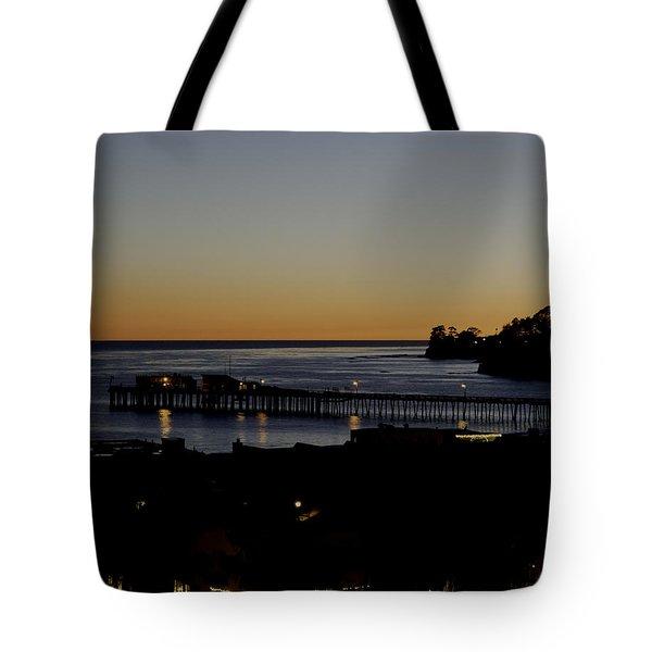 Last 2015 Sunset Tote Bag