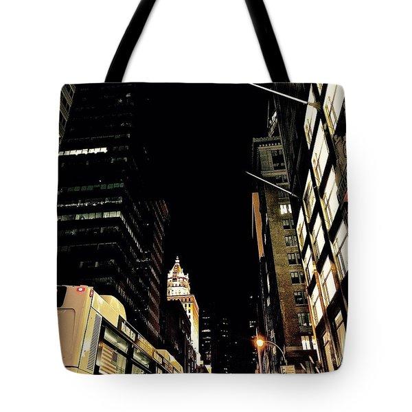 Last Bus Tote Bag by Gillis Cone