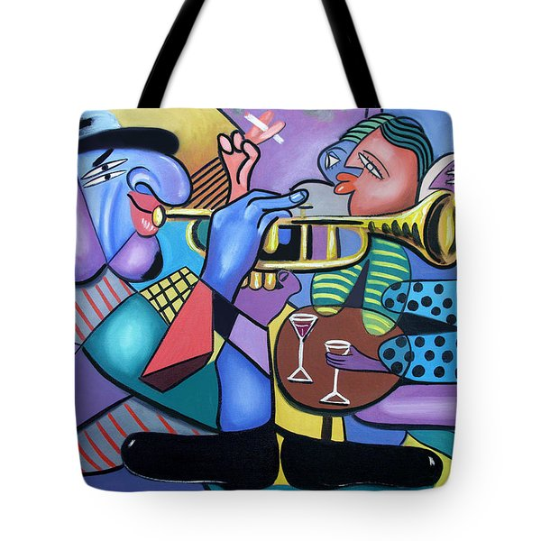 Last Call Tote Bag by Anthony Falbo
