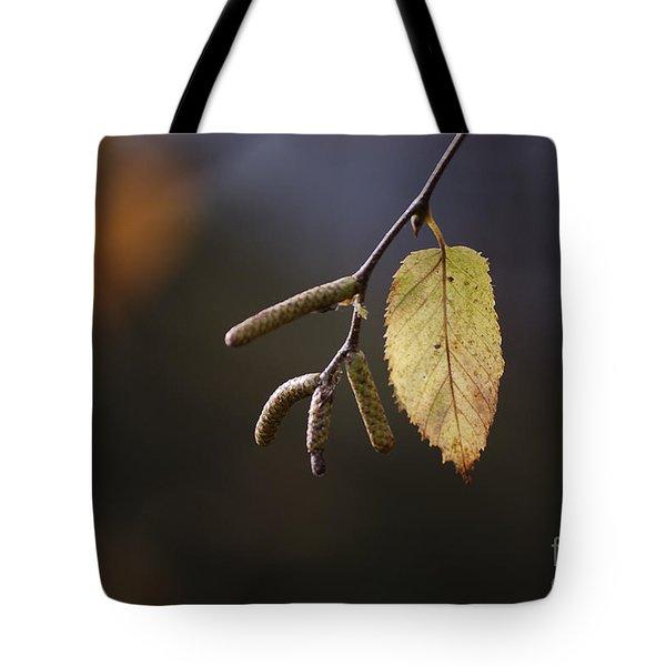 Last Call Of Fall Tote Bag