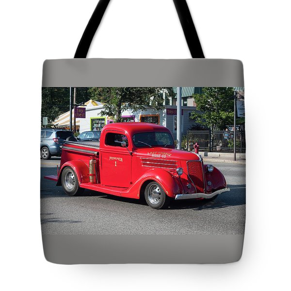 Last Chance Hose Company Tote Bag by Suzanne Gaff