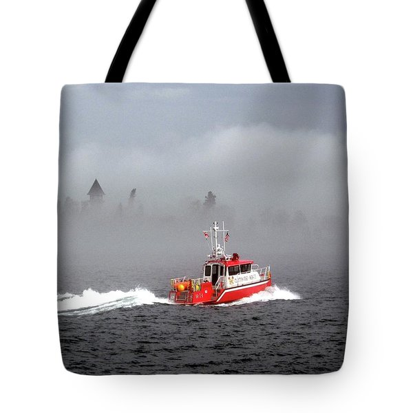 Last Chance Off Calument Island Tote Bag