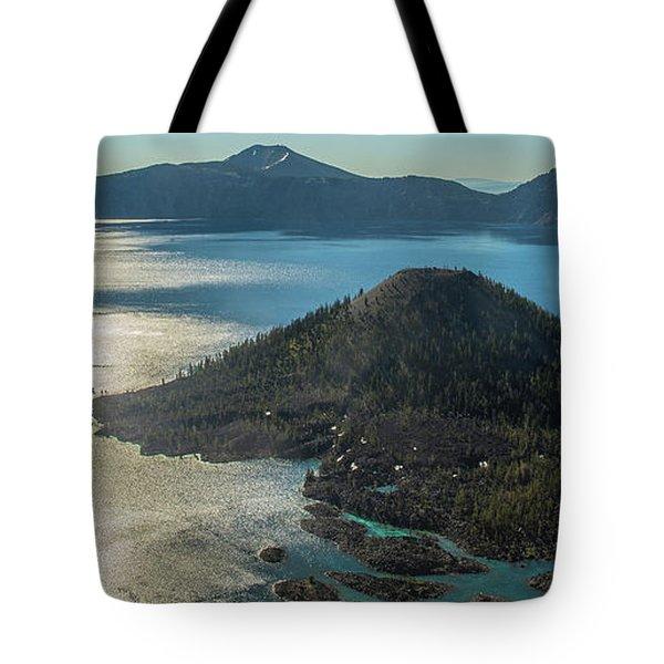 Last Crater View Tote Bag