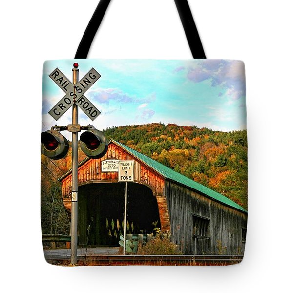 Tote Bag featuring the photograph Last Days by DJ Florek