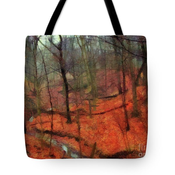 Last Days Of Autumn Tote Bag