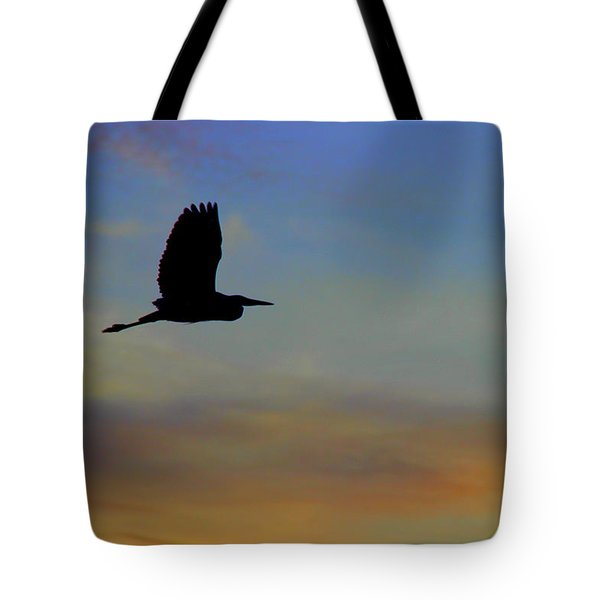 Last Flight  Of  The Day Tote Bag
