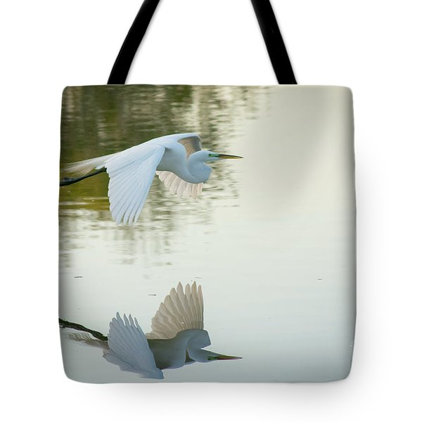 Last Flight Of The Evening Tote Bag