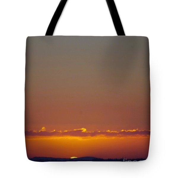 Last Glance Tote Bag by Victor K