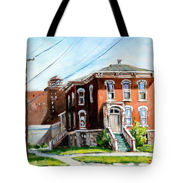 Last House Standing Tote Bag by Alexandra Maria Ethlyn Cheshire