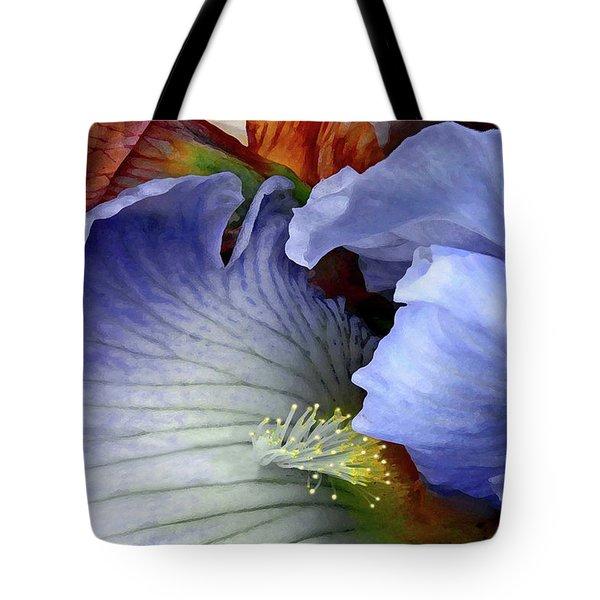 Last Iris Tote Bag