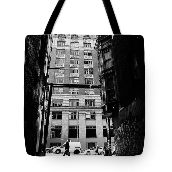 Tote Bag featuring the photograph Last Jacket  by Empty Wall