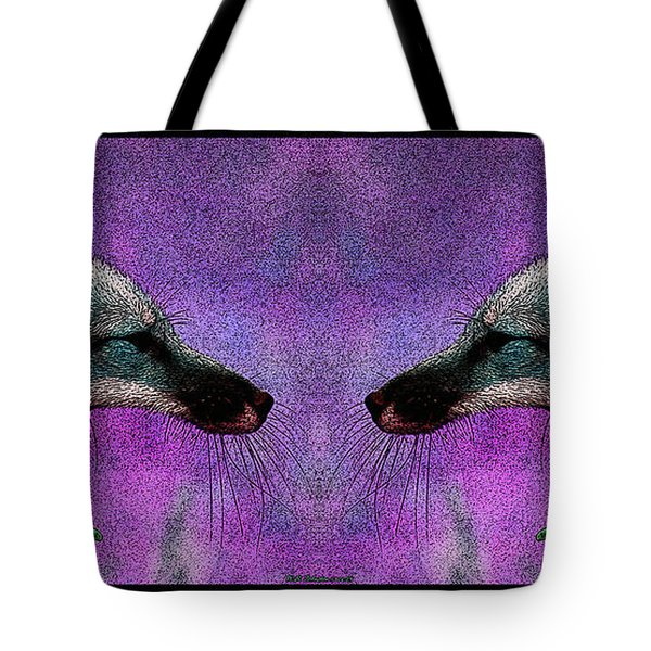 Last Laugh Tote Bag by WB Johnston