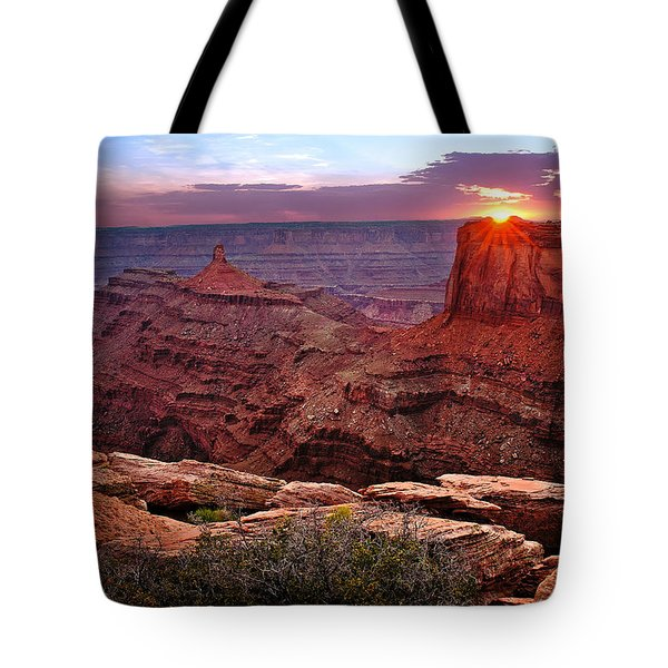 Last Light At Dead Horse Point Tote Bag