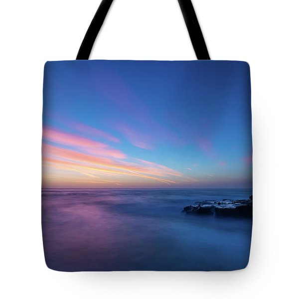 Last Light In April, Sunset Clifs Tote Bag