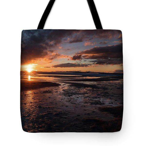Last Light Tote Bag by Justin Johnson