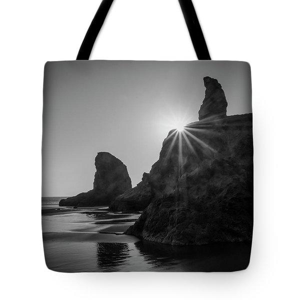 Last Light On The Coast Tote Bag