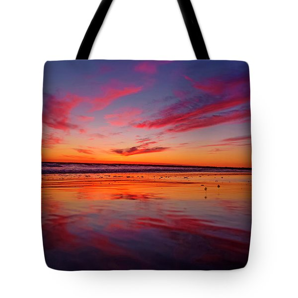 Last Light Topsail Beach Tote Bag