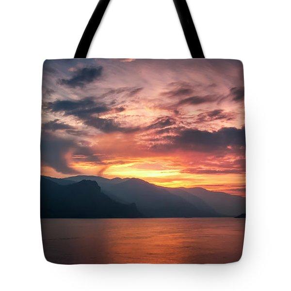 Last Light - Wide Tote Bag