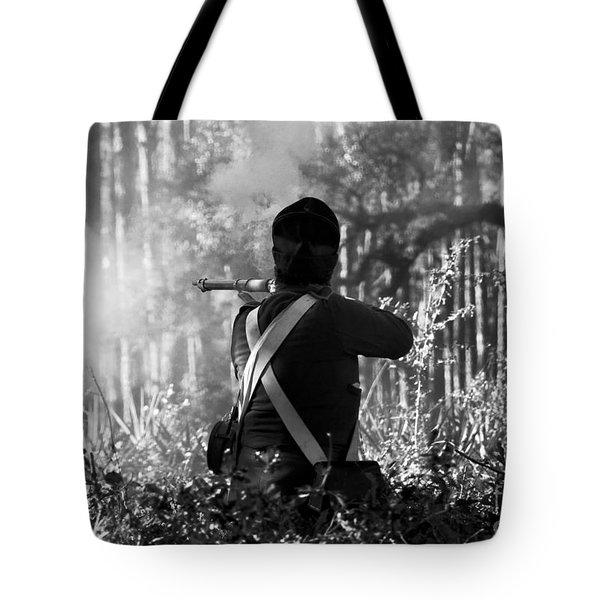 Last Man Standing Tote Bag by David Lee Thompson